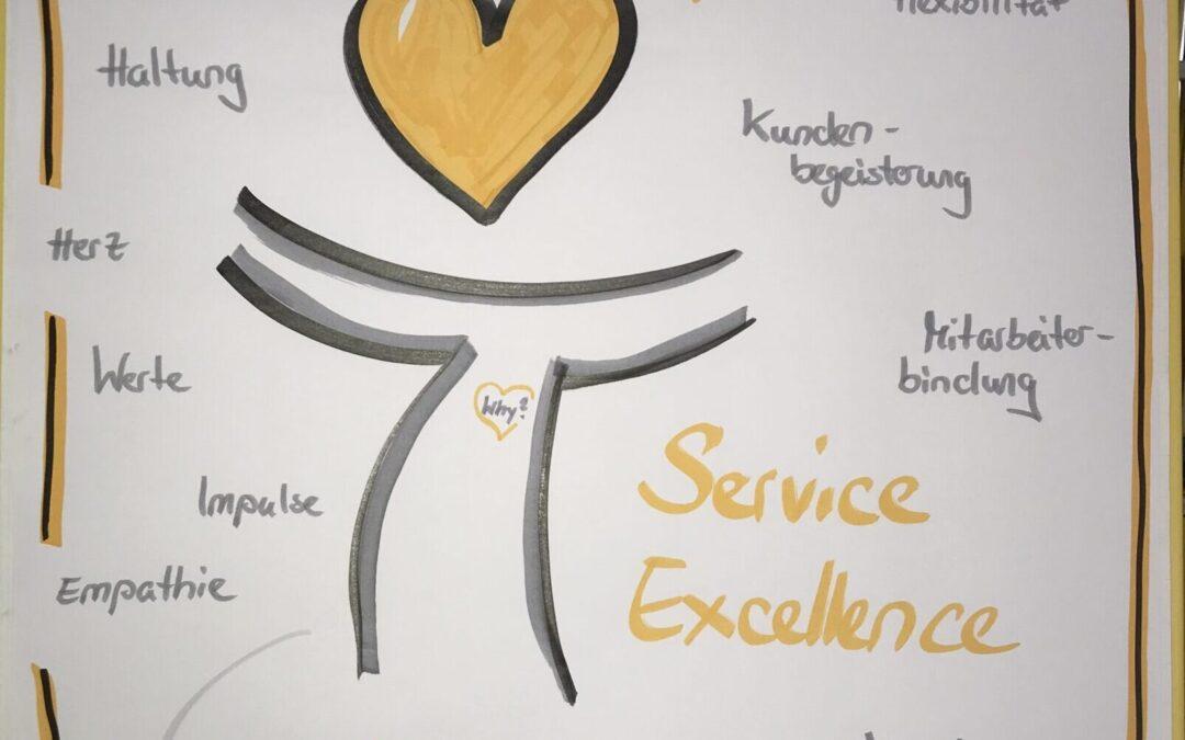 Service Excellence: Was bedeutet das und was bringt es mir? – Impulsvortrag
